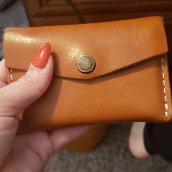 Handbags - Minimalist leather wallet
